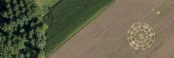 Crop Circles Spotted on Google Maps 4