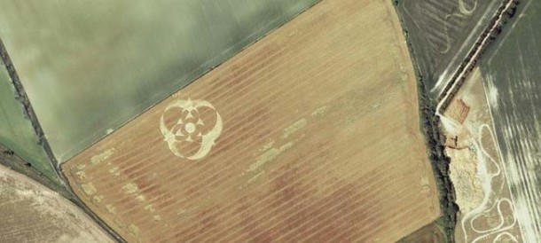 Crop Circles Spotted on Google Maps
