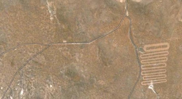 Crop Circles Spotted on Google Maps 7