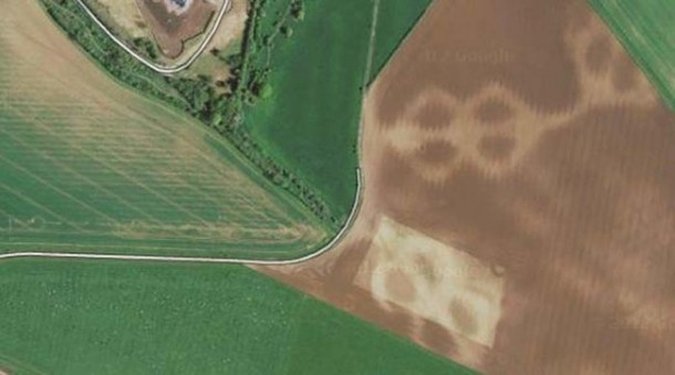 Crop Circles Spotted on Google Maps 8