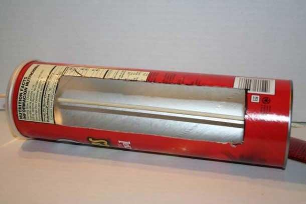 DIY Solar Hot Dog Cooker 6