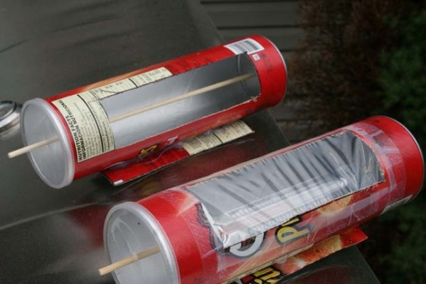 DIY Solar Hot Dog Cooker 8