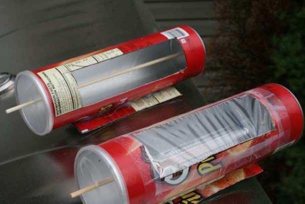 DIY Solar Hot Dog Cooker 8