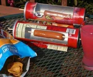 DIY Solar Hot Dog Cooker 9