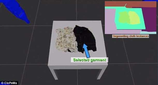Dextrous Blue – Robot That Can Fold Clothes 2