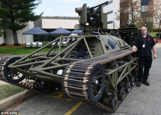Drone Tank Known As Ripsaw Is Approaching Completion