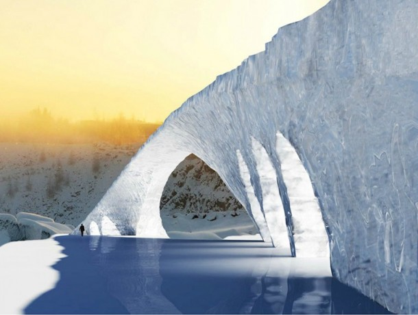 Dutch Students Will Be Building a 50 Meters Long Ice Bridge 2