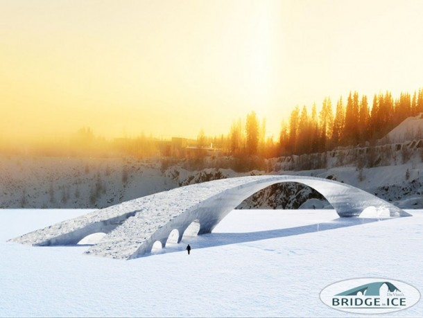 Dutch Students Will Be Building a 50 Meters Long Ice Bridge
