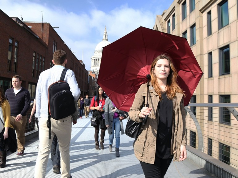 Kazbrella is The Latest Innovative Umbrella Design