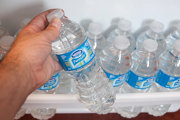 Make Sure You Check The Label Before You Buy Water Bottle