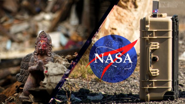 NASA's FINDER Was Able To Find 4 Men Caught Under Rubble In Nepal 3