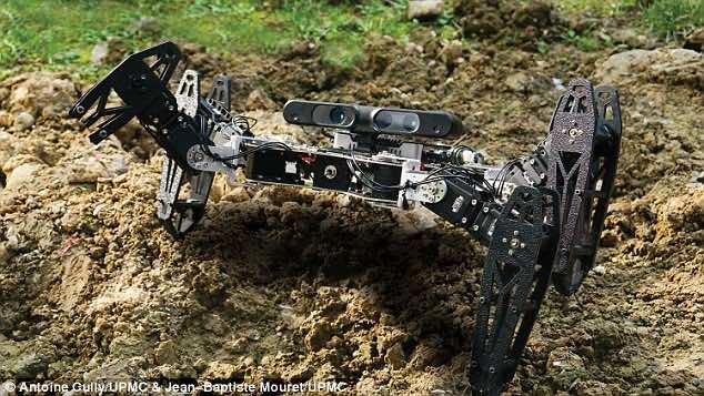 Robot limping3
