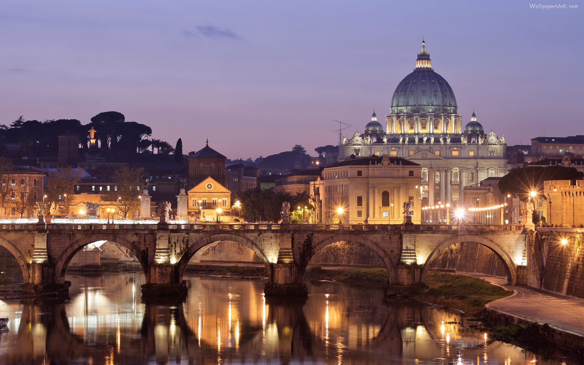 Download rome hd wallpapers the beauty of 3 000 year old for Wallpaper italia