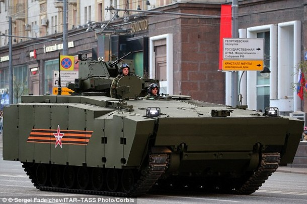 Russia's Latest Tank Can Be Controlled Via Playstation Gamepad