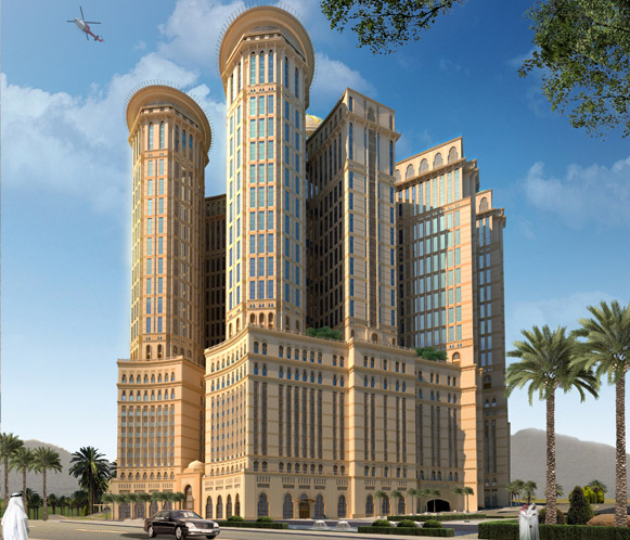 Saudi Arab Is Building World's Largest Hotel In Mecca 4