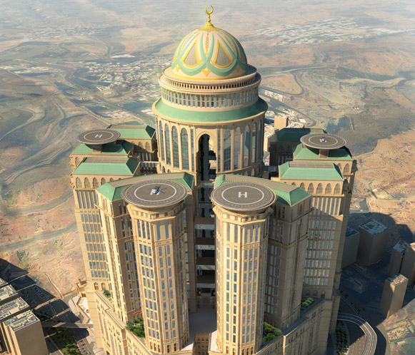Saudi Arab Is Building World's Largest Hotel In Mecca 5