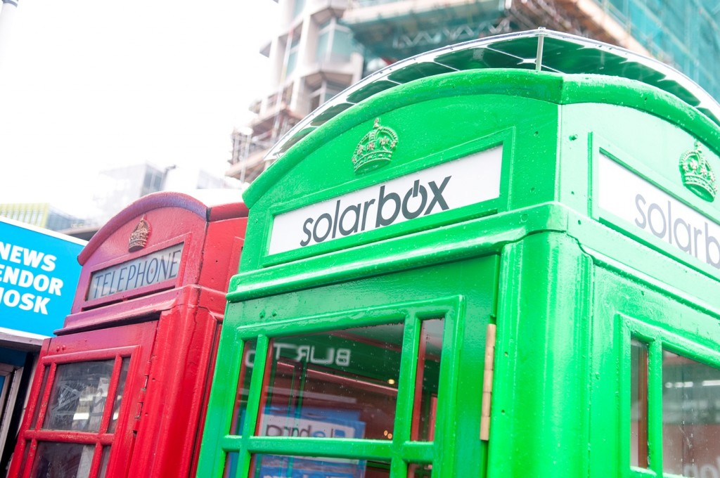 Solar Phone Booth Shall Charge Your Device – London Calling 3