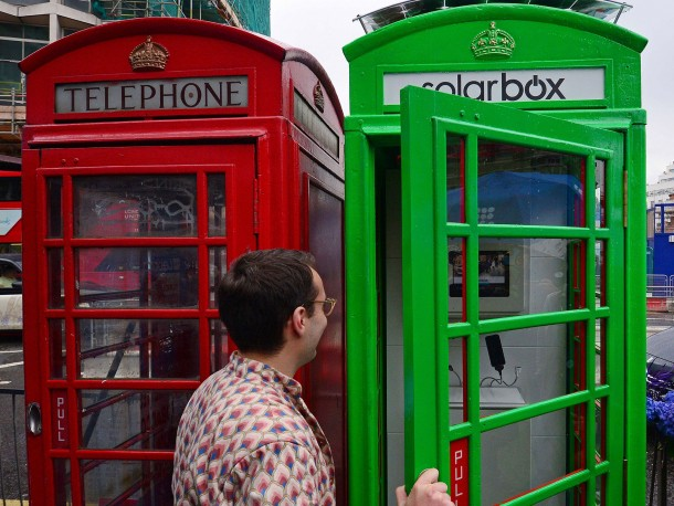 Solar Phone Booth Shall Charge Your Device – London Calling 5