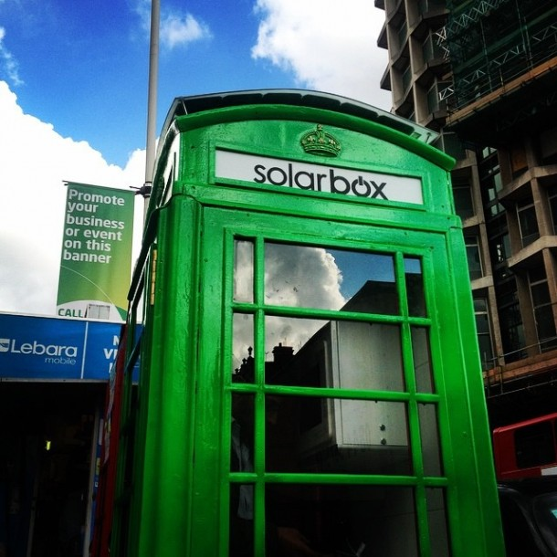 Solar Phone Booth Shall Charge Your Device – London Calling