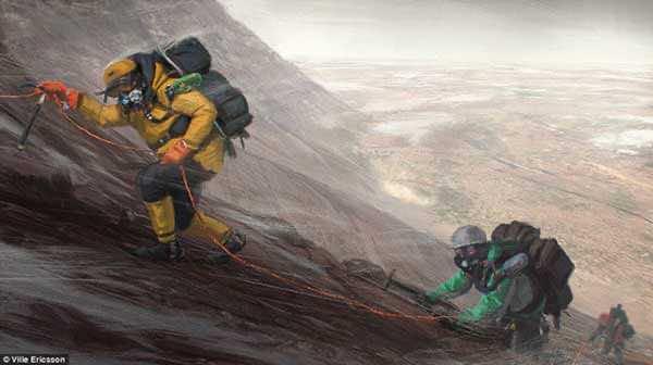 Stunning Future Of Mars Through An Artist's Canvas 3