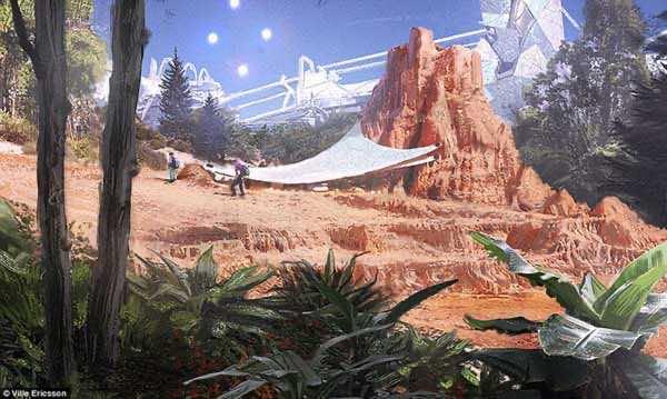 Stunning Future Of Mars Through An Artist's Canvas 2