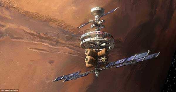 Stunning Future Of Mars Through An Artist's Canvas 4