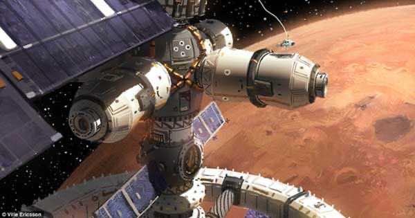 Stunning Future Of Mars Through An Artist's Canvas 5