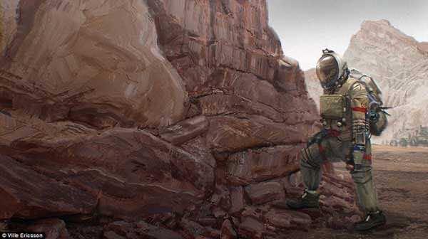 Stunning Future Of Mars Through An Artist's Canvas 6