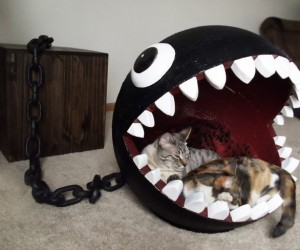 Super Mario Bros Themed Cat Bed 10