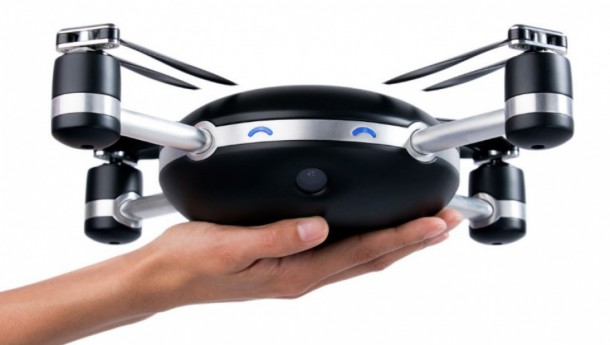 This Camera Drone Has To Be Thrown In Air For It To Work 3