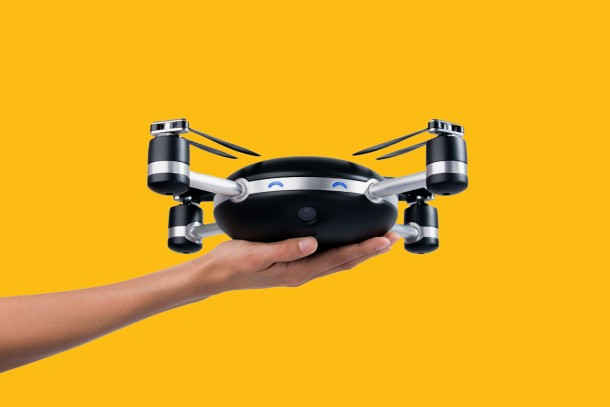This Camera Drone Has To Be Thrown In Air For It To Work 4