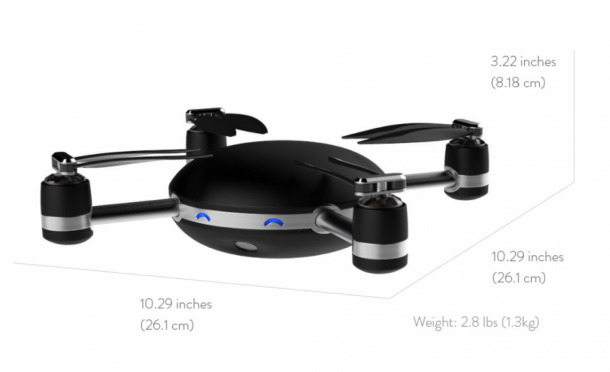 This Camera Drone Has To Be Thrown In Air For It To Work 5