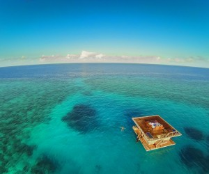 This Floating Hotel Has Something Hidden Underneath It 4