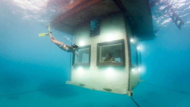 This Floating Hotel Has Something Hidden Underneath It 6