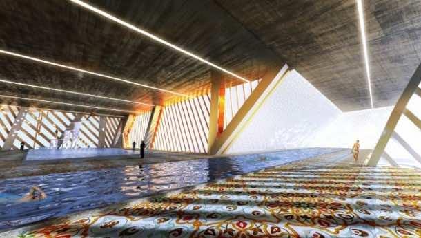 Vertical City Concept For Sahara 3