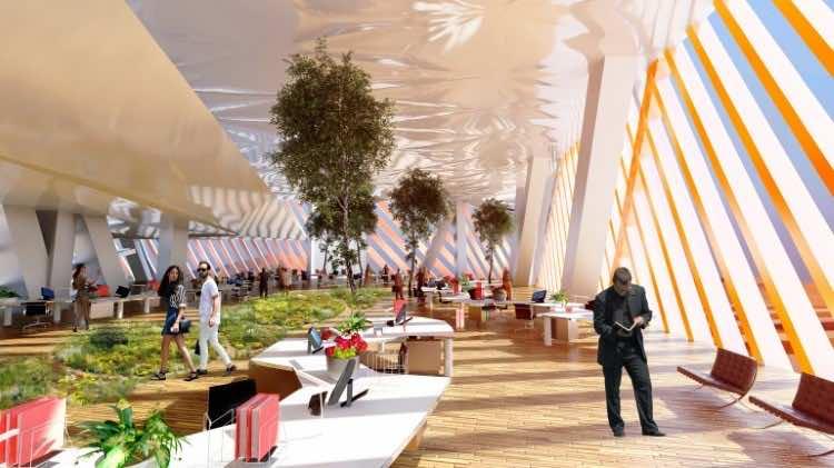 Vertical City Concept For Sahara 6