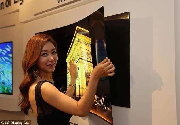 Wallpaper TV By LG Display - ADD LINK