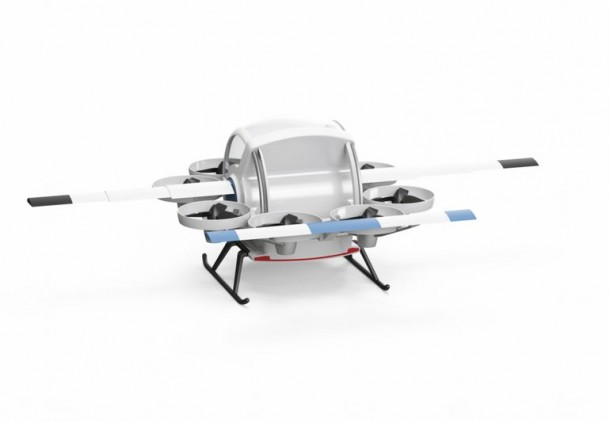 Yeair Hybrid Gasoline And Electric Quadcopter 3