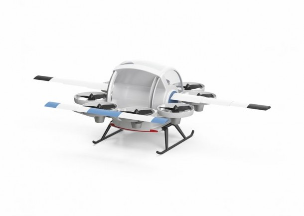 Yeair Hybrid Gasoline And Electric Quadcopter