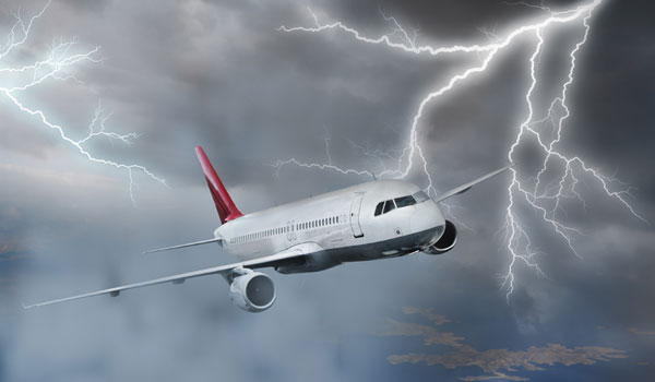 aircraft struck by lightning2