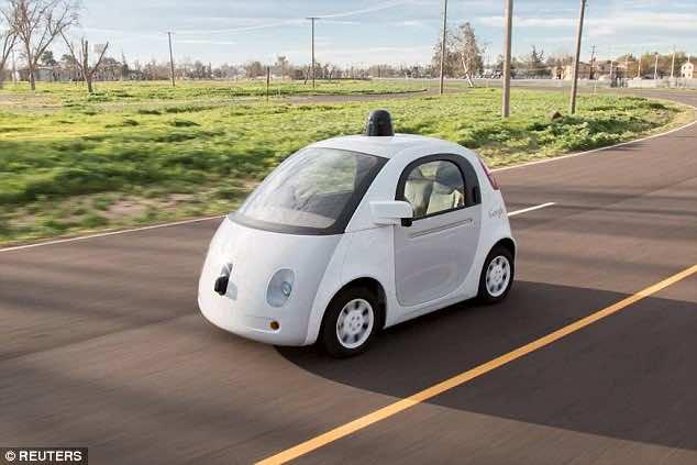 self-driven cars google