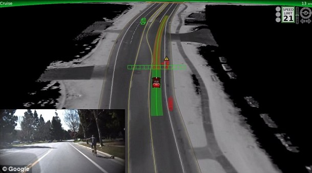 self-driven cars google3