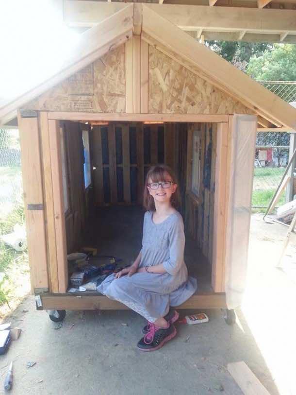 9 year old engineer saves homeless