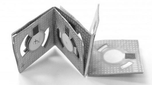 Check Out The Origami Battery