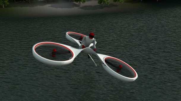 Flike hover bike3