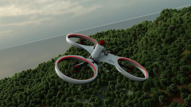 Flike personal tricopter Completes First Manned Flight