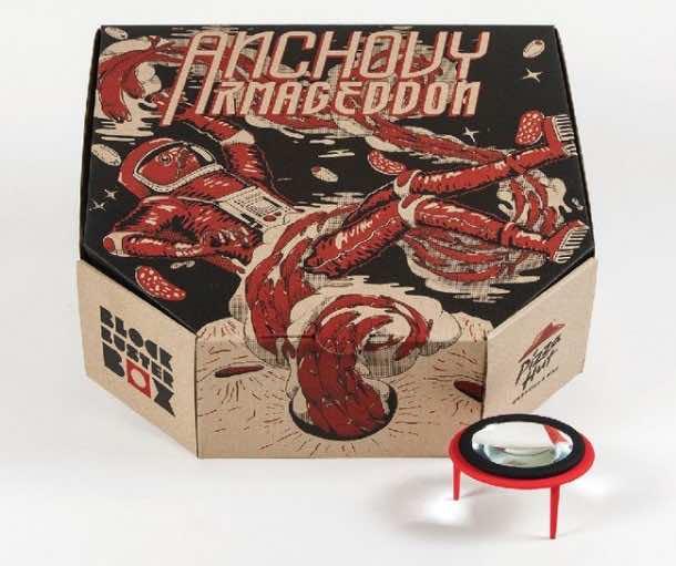 Pizza box projector3