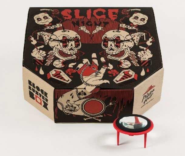Pizza box projector5