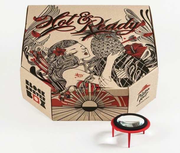 Pizza box projector6