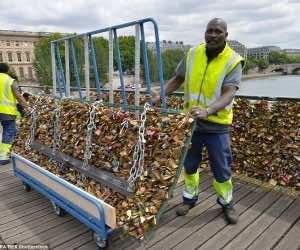 Removal of locks In Paris
